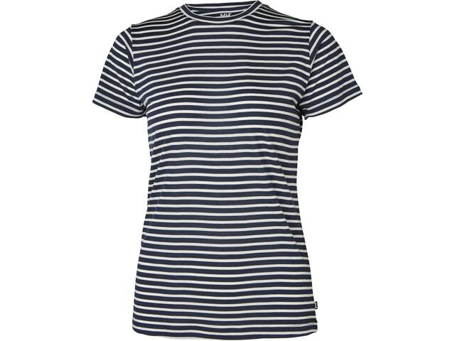 Helly Hansen Merino Graphic T-Shirt Women, navy stripe
